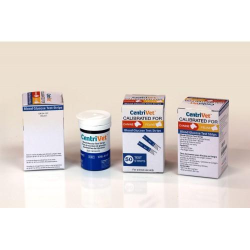 CentriVet Bovine Blood Glucose Test Strips (50/Pack)